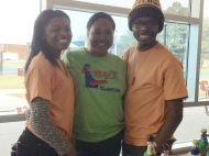 Volunteers at JFLL Expo at Delaware State University